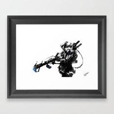 Shockwave Framed Art Print