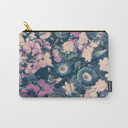 Floral Nights Space Dreams Carry-All Pouch