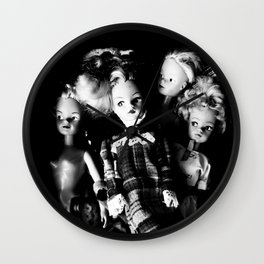 Thrift Shop Girls Wall Clock