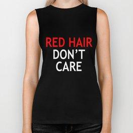 red hair Biker Tank