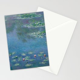 Water Lilies, Claude Monet,1840-1926 Stationery Cards