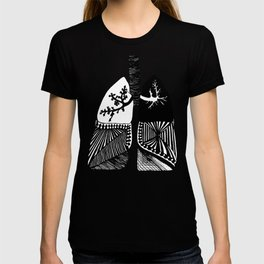 Particle Filtration - Lungs - Respiratory System T-shirt