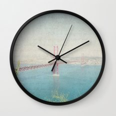 Letters From Lisbon Wall Clock