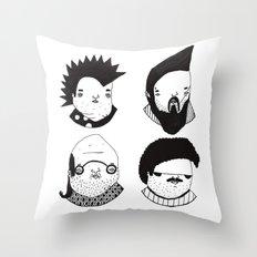Busts 2° Part Throw Pillow