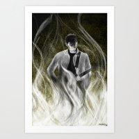 alex turner Art Prints featuring ALEX TURNER by Kana