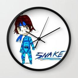 MGS - Snake Wall Clock