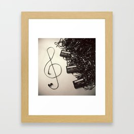 Feel The Music Framed Art Print