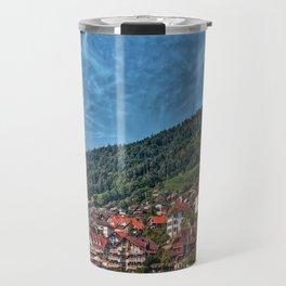 Lakefront Provincial Town Travel Mug