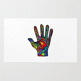 Folk Art Hand Rug