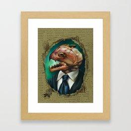 Captain's Heart Framed Art Print