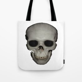 Human Skull Vector Isolated Tote Bag