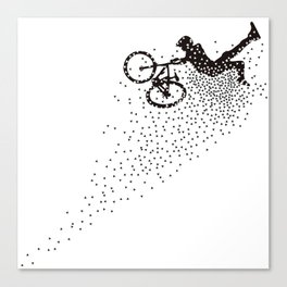 Superman MTB Canvas Print