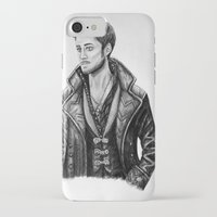 captain hook iPhone & iPod Cases featuring Captain Hook by Olivia Nicholls-Bates