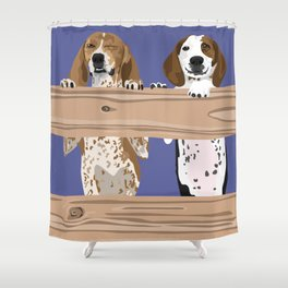Paisley and River Shower Curtain