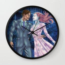 Sleeping With Ghosts Wall Clock