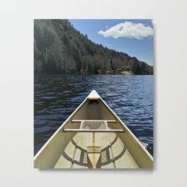 Canoe Ride Metal Print