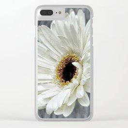 Fresh As A Daisy Clear iPhone Case