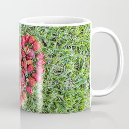Strawberries heart Coffee Mug