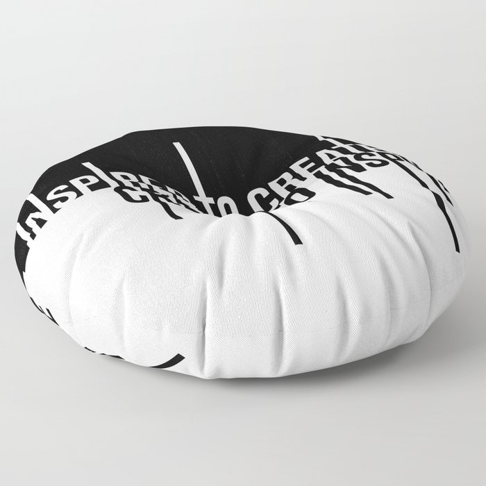 Create to Inspire Floor Pillow