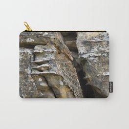 Where Ancients Walked Natural Earth Art Rock Texture Carry-All Pouch