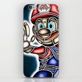 Mario Machine iPhone Skin