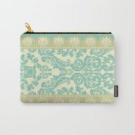 Ornamental Renaissance Border Design Acqua  Carry-All Pouch