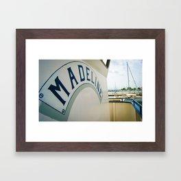 Madeline-color  Framed Art Print