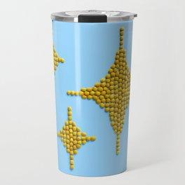 Sparkles Food Emoji Travel Mug