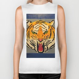 Fear The Tiger Biker Tank