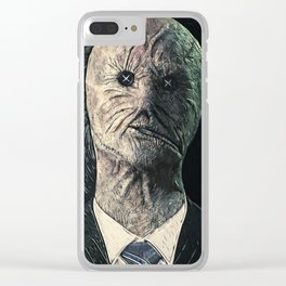 Dr. Decker Clear iPhone Case