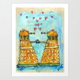 Exterminating Love. Art Print