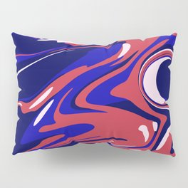 Abstract Acrylic Flow Pillow Sham