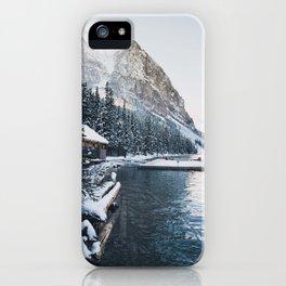 Winter Lake Louise iPhone Case