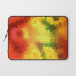 Yellow stained glass Laptop Sleeve