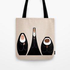 Three Nuns Tote Bag