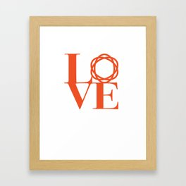 Saatchi Love Framed Art Print