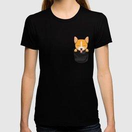 Pocket Corgi! T-shirt