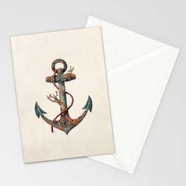 Lost at Sea - colour option Stationery Cards