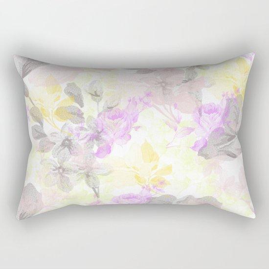 Vintage flora 01 Rectangular Pillow
