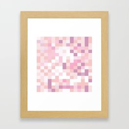 Matisse Map Blush Framed Art Print