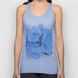 Blue Hydrangeas #1 #decor #art #society6 Unisex Tank Top