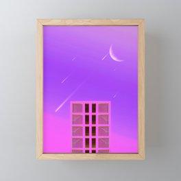 Fallen Stars Framed Mini Art Print