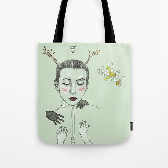 kış (winter) Tote Bag