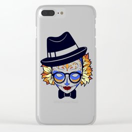 Mad Hatter Sugar Clear iPhone Case