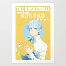 The Basketball Which Kuroko Plays Art Print