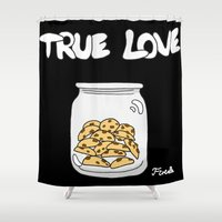 cookies Shower Curtains featuring Cookies by Firielle