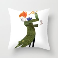 The Coat Tail Throw Pillow
