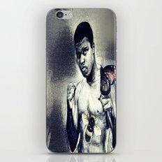 Ali- Float like a Butterfly sting like a bee iPhone & iPod Skin