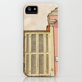 Downfall - Demolition building iPhone Case