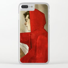 The first encounter. Clear iPhone Case